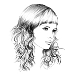 Illustration Hairstyling